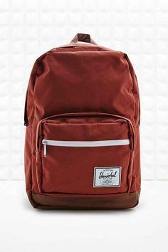 Herschel Pop Quiz 20L Zip Backpack in Rust Red
