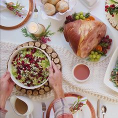 Holiday Ham Dinner, Food Crafts, Sweet Sweet, Sweet Recipes, Holiday Recipes, Make It Simple, Sauces, Foodies, Christmas Ideas