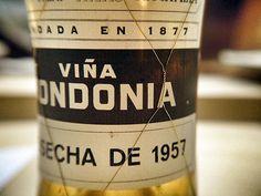 1957 R.Lopez de Heredia Vina Tondonia Blanco from Rioja, Spain