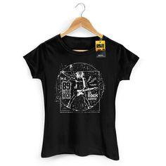 Camiseta Feminina 89 FM A Rádio Rock We Rock Vitrúvio! 2 #WeRockVitruvio #WeRockYou