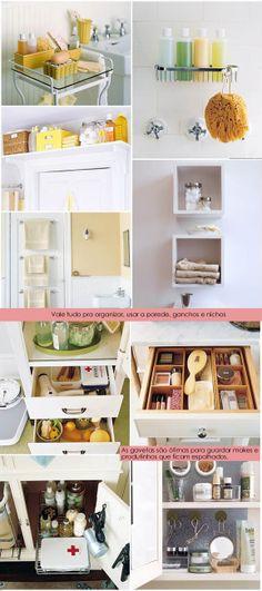 Banheiro:  fonte: blog Morando Sozinha