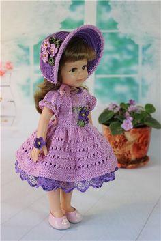 """Наряд для куклы 30 - 33 см. """"Фиалка"""" (2) / Одежда для кукол / Шопик. Продать купить куклу / Бэйбики. Куклы фото. Одежда для кукол"""