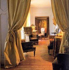 curtains in doorways