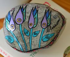 Hey, I found this really awesome Etsy listing at https://www.etsy.com/listing/230374574/blossom-painted-rock-paper-weight