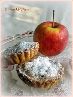 In my kitchen: Tartaletki z jabłkami