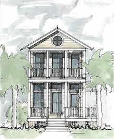 The Gardenia — Hot Humid Solutions. 2 bed/ 2.5 bath house plan. See more at hothumidsolutions.com