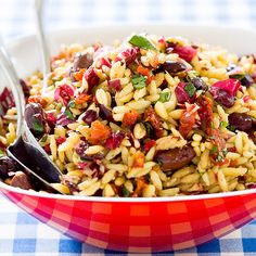 Orzo with Everything Recipe - Cook's Country