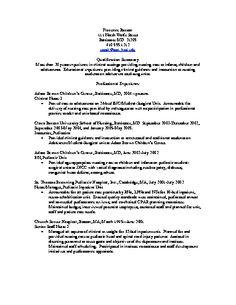 resume objective statement sample http www resumecareer info