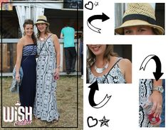 Festival report: WiSH outdoor 2014 - Outfit inspiration - Spotted at WiSh festival - Summer - Coachella - Festival look - Ootd - Maxi dress