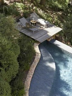 pool deck...love this! Outdoor Spaces, Outdoor Living, Outdoor Decor, Outdoor Pool, Landscape Architecture, Landscape Design, Dream Pools, Beautiful Pools, Pool Designs