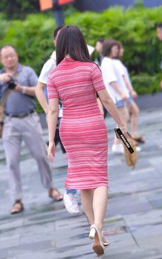 微博 Cyberpunk Girl, Short Sleeve Dresses, Dresses With Sleeves, Beautiful Asian Girls, Beautiful Celebrities, Bodycon Dress, Dresses For Work, Fashion, Asian Girl