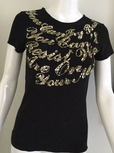 d419f146f49eec Zara Collection Women s Embarrassed T-shirt Black Size M