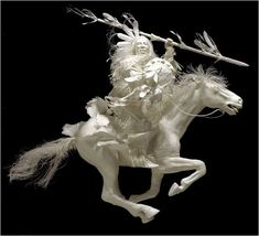 all made from paper, love the work in this, one of my fav artists