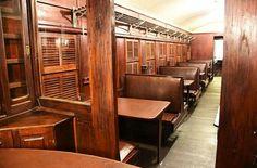Interior del tren Carlos Antonio López