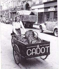 Triporteur Boulangerie Cadot #cargobike
