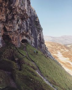 The Bone Caves near Inchnadamph. They are named the Bone Caves after the remains of animals such as Polar Bears, Brown Bears, Lynx, Reindeer and Wolves that once roamed this part of the country have all been discovered.