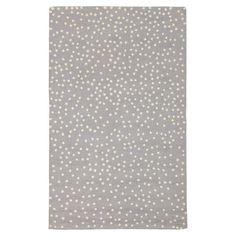 Mini Dot Rug, Grey | PBteen