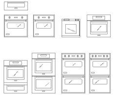 ArchBlocks AutoCAD Oven Block Symbols