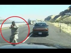 [RAW/HQ] Oregon State Police Video Captures Fatal Freeway Shooting