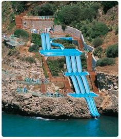 Weeeeeeee - epic water slide in Sicily