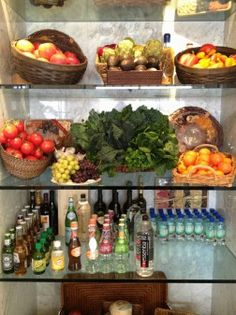 Built in fridge on Pinterest | Yolanda Foster, Refrigerators and ...