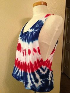 Fourth Of July Tie Dye Inspiration