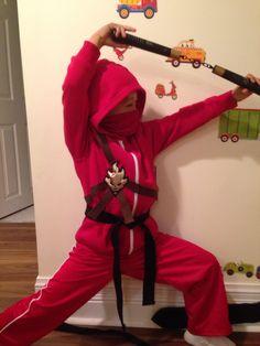 Ninjago Kai hoodie costume