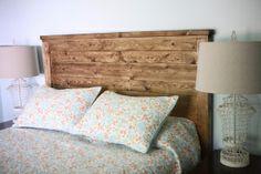 DIY Wood Headboard Ideas | Wood Headboard Plans