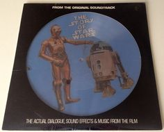 The Story of Star Wars  Picture Disc SEALED LP Vinyl Record Album, 20th Century Fox - PR-103, Story, Soundtrack, 1977, Original Pressing