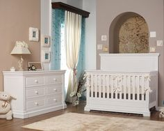Jackson Crib And Dresser In Grey Finish Furniture Kids