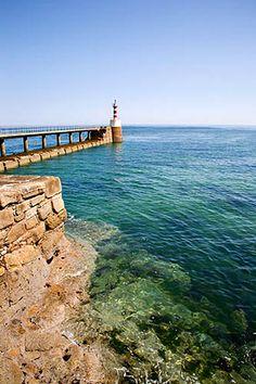 Amble Pier Amble Northumberland England by Mark Sunderland, via Flickr