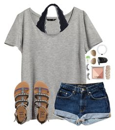 """Going on a 6 hour car trip tomorrow!!"" by lydia-hh ❤ liked on Polyvore featuring H&M, Clinique, Dove, Ray-Ban, Billabong and Swell"