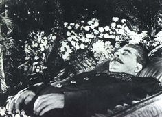 Josef Stalin Dead Body