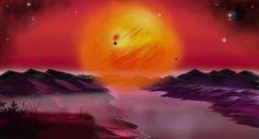 Art of Andy Kwiecinski. 'Hyperion' - Inspired by Dan Simmons book.