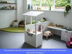 160 fun kids playroom ideas to inspire you – page 12 Home Daycare, Toy Rooms, Kids Room Design, Kids Corner, Kidsroom, Kids Bedroom, Room Kids, Classroom Decor, Sweet Home