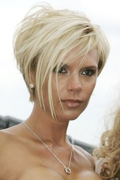 victoria beckham hairstyles | Victoria Beckham Hairstyles & Haircuts 2012 (Glamour.com UK)