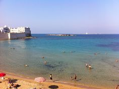 Beach of Gallipoli.