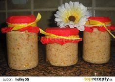 Pomazánka škvarková recept - TopRecepty.cz Sandwich Fillings, 20 Min, Recipies, Brunch, Food And Drink, Appetizers, Cooking Recipes, Toast, Cheese