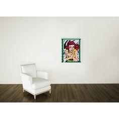 LICHTENSTEIN - Girl at window 67x83 cm #artprints #interior #design #art #print #iloveart #followart #artist #fineart #artwit  Scopri Descrizione e Prezzo http://www.artopweb.com/autori/roy-lichtenstein/EC21829