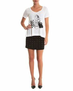 T-Shirt Rio - Style Market B Boutique - Branco