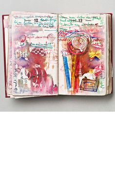 Dieter Roth Journal page