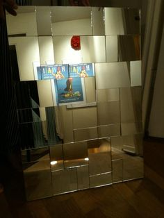 my recycled art project: mirror mosaic inspired by zgallerie bilbao mirror