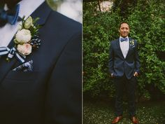 grooms boutonniere - photo by Yes Dear Studio http://ruffledblog.com/romantic-garden-wedding-with-vintage-details