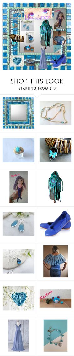 """Blue mirror"" by nanitas23 on Polyvore featuring Sirena"