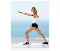18 min resistance band workout...    Stacy Keibler Workout: Workouts: self