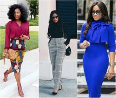 Hello Afro cosmopolitan fashionistas, here are some smart corporate wears for boss ladies to wear to work and look as professionalas possible.
