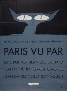 Six in Paris (Rohmer, Godard, Douchet, Chabrol, Pollet & Rouch, France, 1965) Movie Poster of the Week: The Posters of Jean-Michel Folon on Notebook | MUBI
