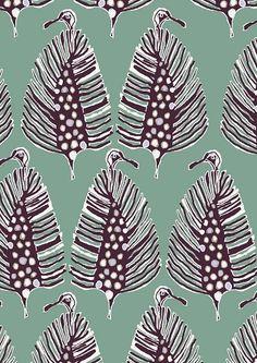 Hanna Cottrell - beautiful organic surface design.: