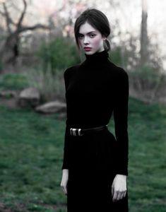 beauty in black.