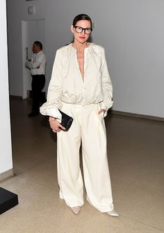 Jenna Lyons attends The 2016 Brooklyn Museum Artists Ball Honoring Stephanie and Tim Ingrassia on April 20 2016 in New York City